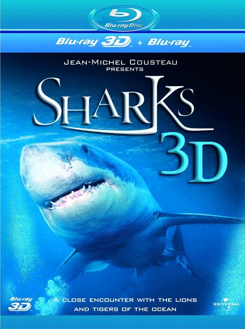 SHARKS 3D Blu-ray