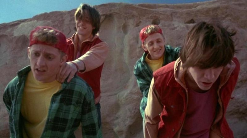 BILL & TED'S BOGUS JOURNEY Mountain Death