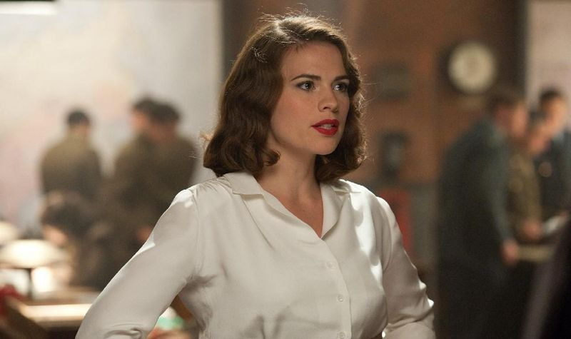 CAPTAIN AMERICA THE FIRST AVENGER Hayley Atwell