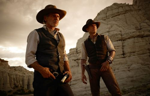 COWBOYS & ALIENS Harrison Ford