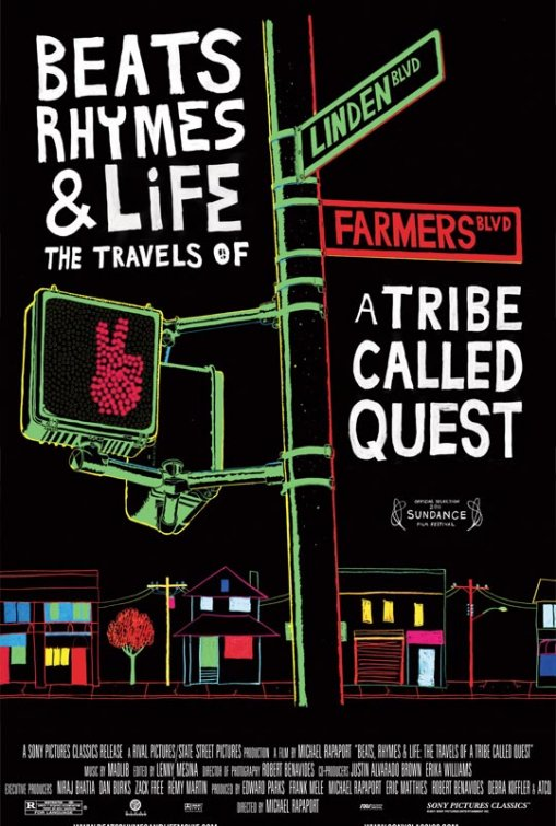 BEATS, RHYMES & LIFE THE TRAVELS OF A TRIBE CALLED QUEST poster