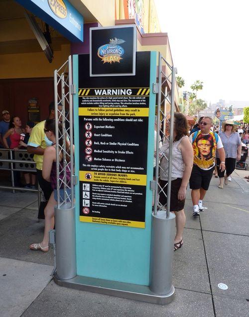 Jimmy Neutron's Nicktoon Blast Universal Studios 4