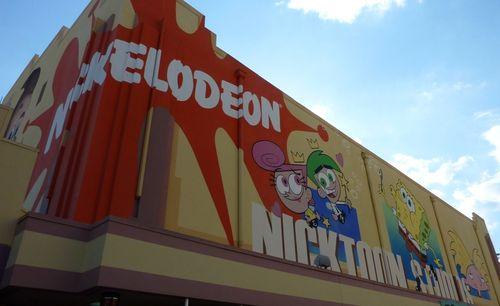 Jimmy Neutron's Nicktoon Blast Universal Studios 8