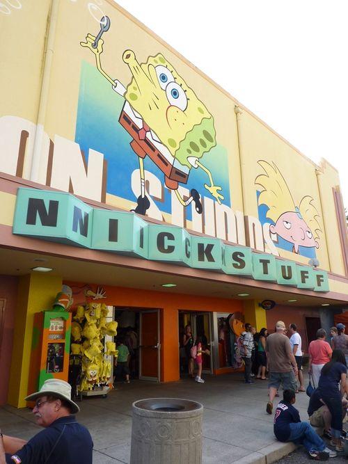 Jimmy Neutron's Nicktoon Blast Universal Studios 9