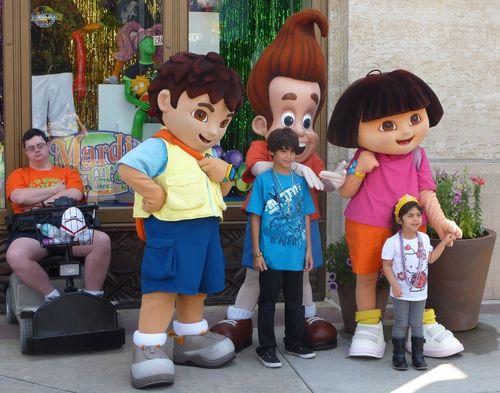 Jimmy Neutron's Nicktoon Blast Universal Studios 6
