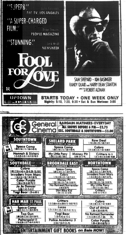 Minnesota Movie Ad June 1986 7