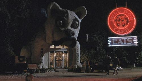 ROCKETEER Bulldog Cafe