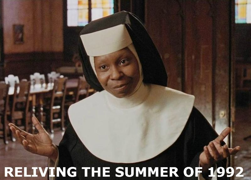 SISTER ACT Whoopi Goldberg 1