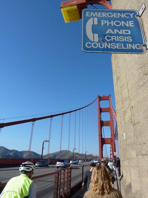Golden Gate Bridge Suicide 2
