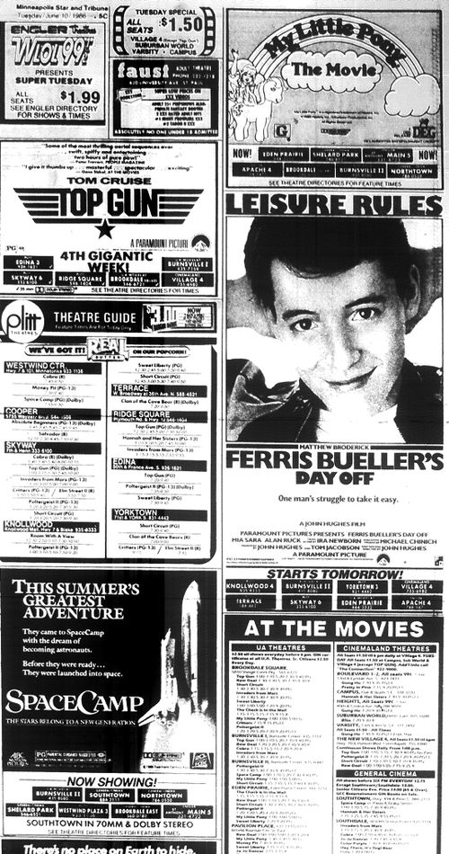 Minnesota Movie Ad June 1986 8