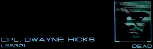 ALIEN 3 Hicks Dead