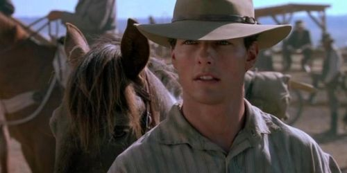 FAR AND AWAY Tom Cruise Cowboy
