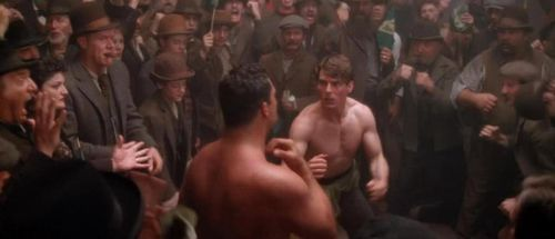 FAR AND AWAY Tom Cruise Boxing