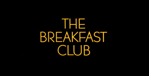 BREAKFAST CLUB Title