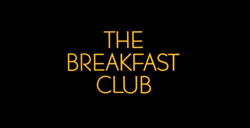BREAKFAST CLUB Title