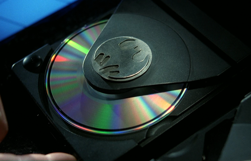 BATMAN RETURNS Bat CD Player