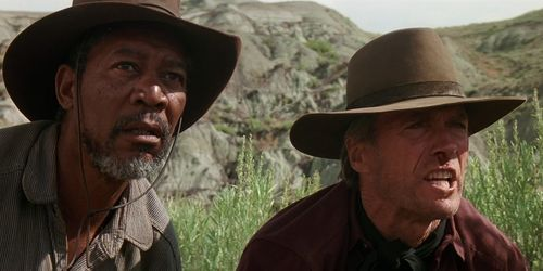 UNFORGIVEN Clint Eastwood Morgan Freeman