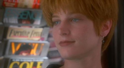 SINGLE WHITE FEMALE Bridget Fonda Red Hair