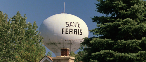 FERRIS BUELLER'S DAY OFF Save Ferris Water Tower