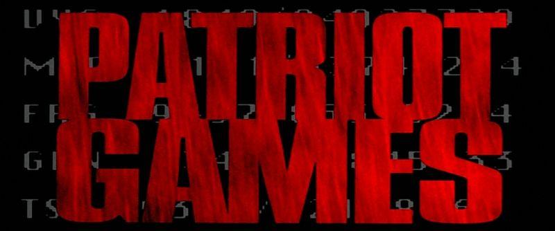 PATRIOT GAMES Title