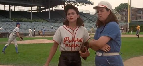 A LEAGUE OF THEIR OWN Madonna Rosie O'Donnell