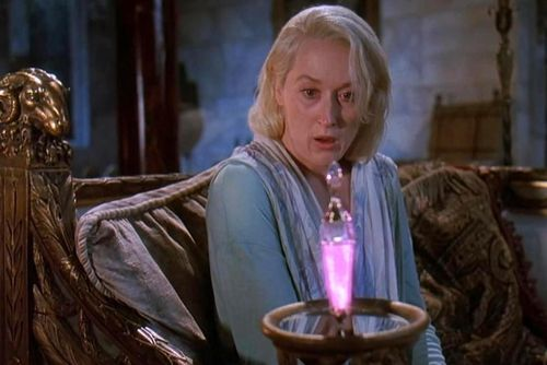 DEATH BECOMES HER Meryl Streep potion