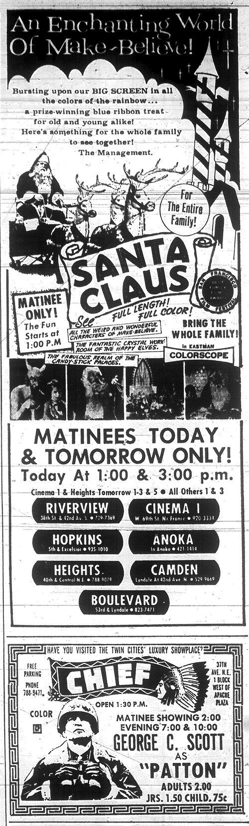 Minnesota Movie Ad 1970 5