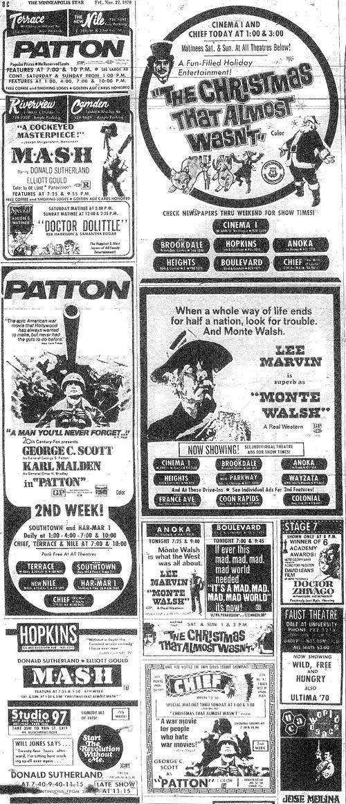 Minnesota Movie Ad 1970 8