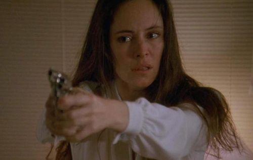 UNLAWFUL ENTRY Madeline Stowe Gun
