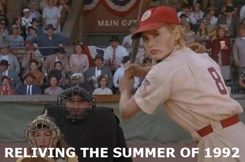 A LEAGUE OF THEIR OWN Geena Davis 1