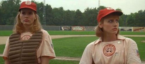 A LEAGUE OF THEIR OWN Geena Davis Lori Petty