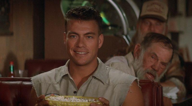 UNIVERSAL SOLDIER Jean-Claude Van Damme popcorn