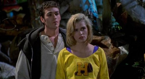 BUFFY THE VAMPIRE SLAYER 1992 Kristy Swanson Luke Perry