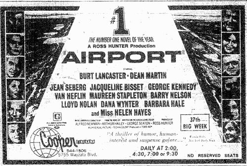 AIRPORT ad 1970