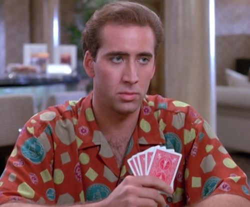 HONEYMOON IN VEGAS Nicolas Cage Cards