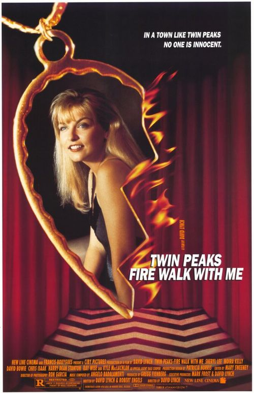 TWIN PEAKS FIRE WALK WITH ME poster