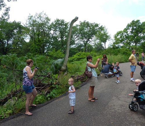 Minnesota Zoo Dinosaurs 3