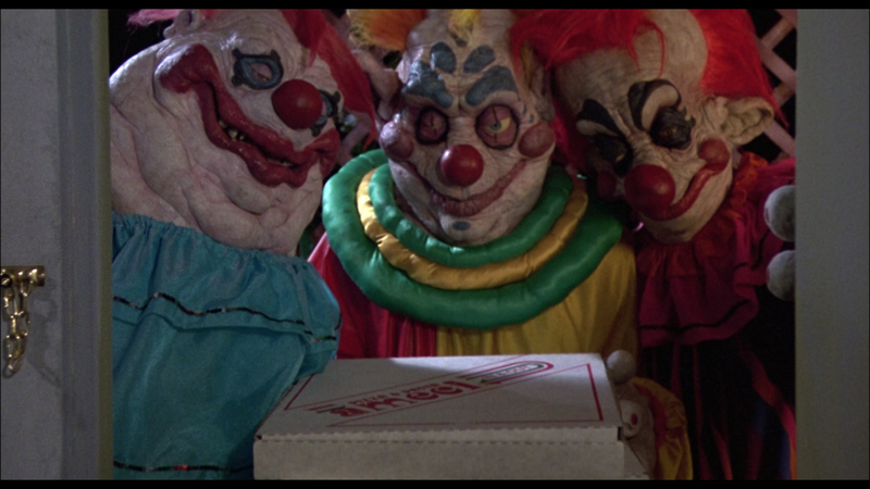 KILLER KLOWNS FROM OUTER SPACE Pizza