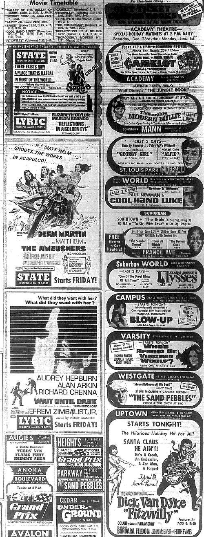 Minnesota Movie Ad 1967 5