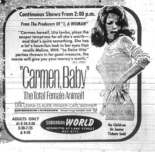 Minnesota Movie Ad 1967 7