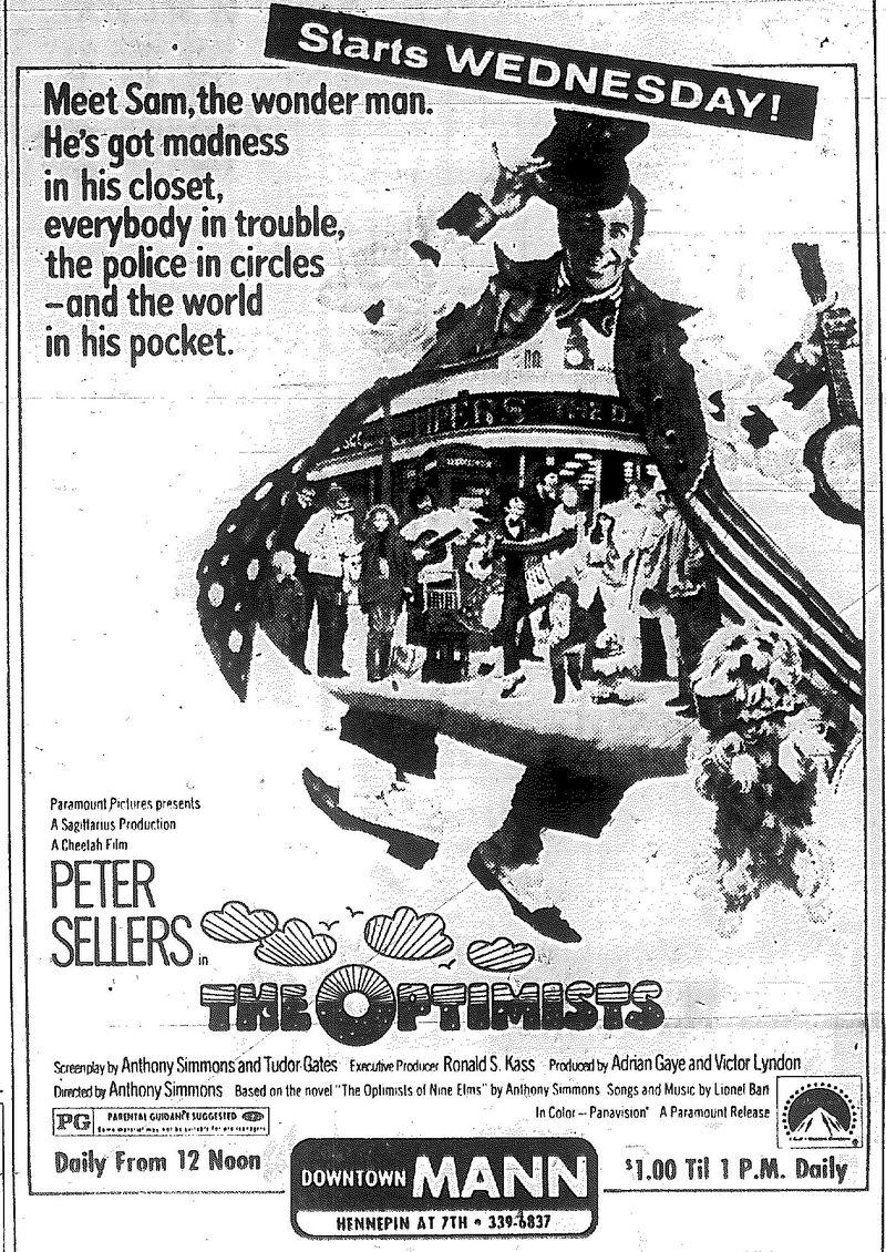 Minnesota Movie Ads 1973 11