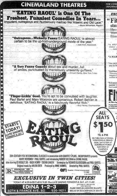 Minnesota Movie Ads 1983 15