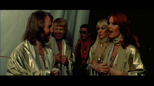 ABBA THE MOVIE Backstage