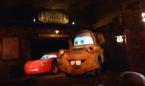 Cars Land Disney California Adventure 40