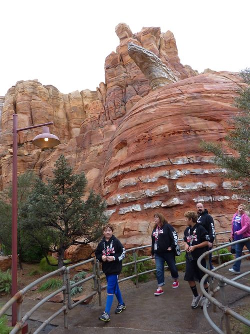 Cars Land Disney California Adventure 12
