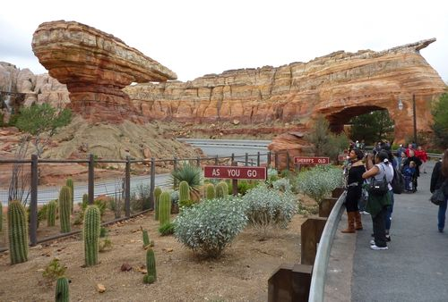 Cars Land Disney California Adventure 69