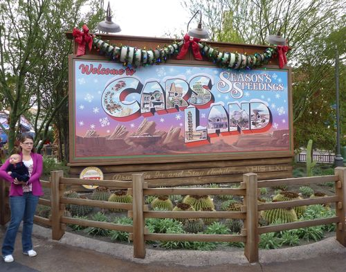 Cars Land Disney California Adventure 47
