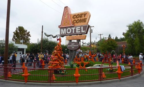Cars Land Disney California Adventure 55
