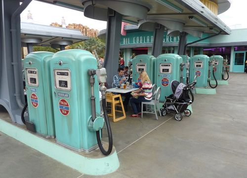 Cars Land Disney California Adventure 63