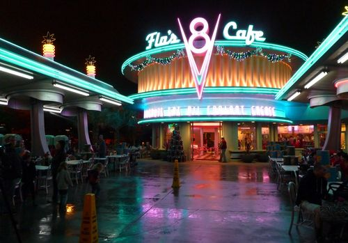 Cars Land Disney California Adventure 91